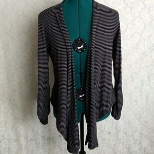 Rue 21 stripped cardigan